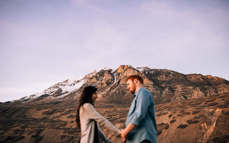 TAYLOR + TURNER | PROVO CANYON ENGAGEMENT SESSION