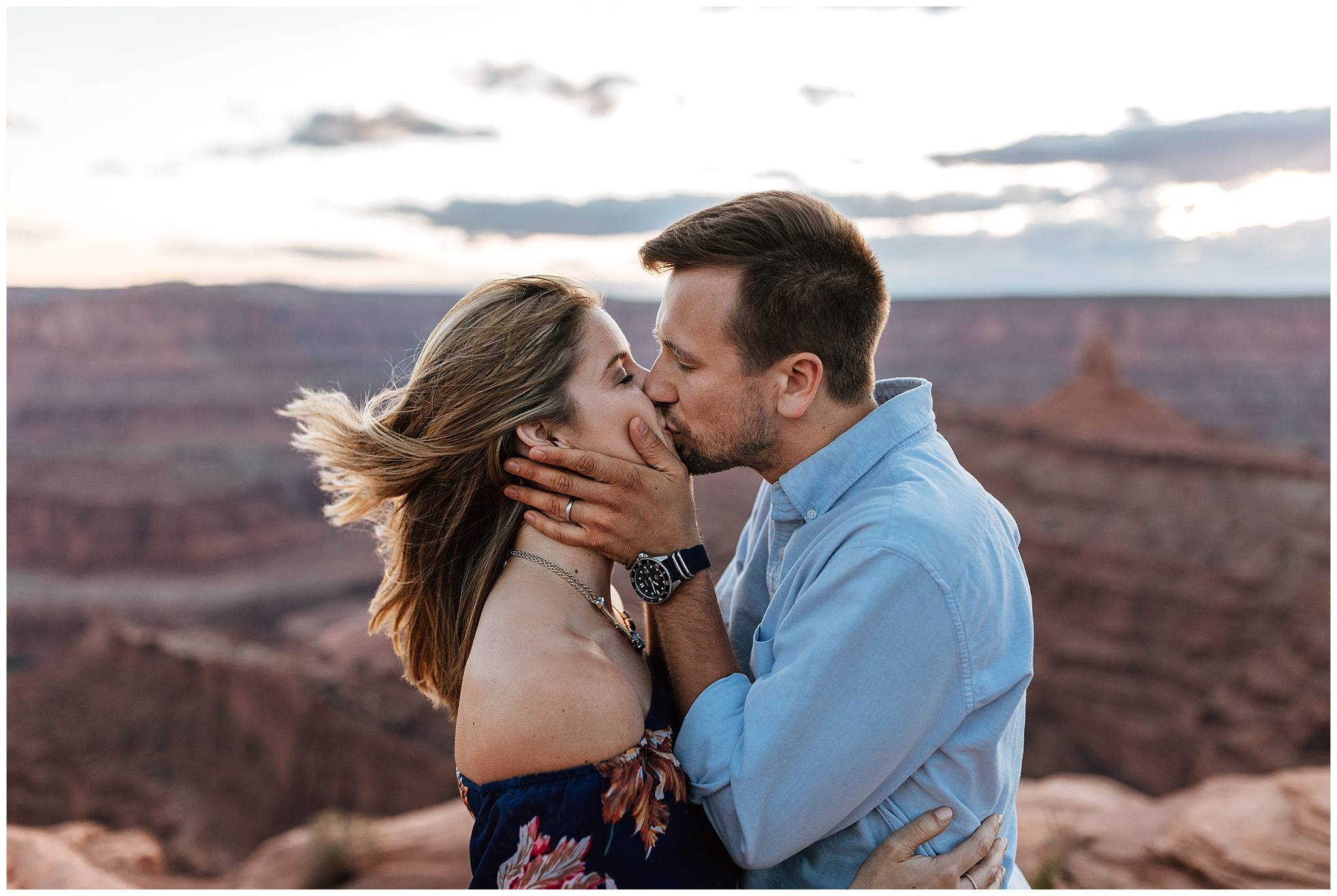 Under Canvas Moab, Dead Horse Point, State Park, intimate in home session, adventure session,  Adventurous bride, Bailey Dalton Photo, Intimate Wedding photographer, Traveling Photographer, Utah Engagement photographer, Utah Wedding Photographer, boho bride,
